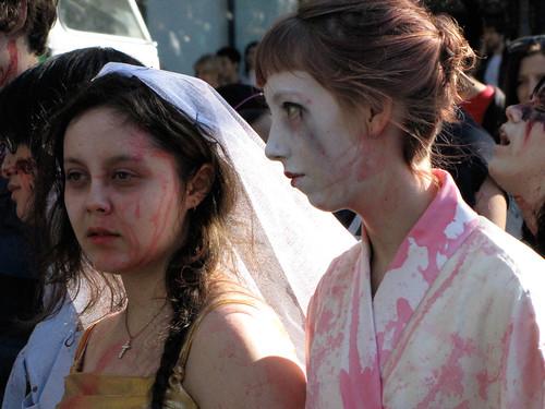 Pensive Zombies by deborahkalin