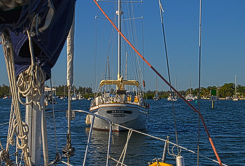 Back In The Vero Beach Mooring Field