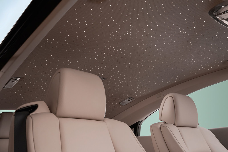 2014 Rolls-Royce Wraith roof lining