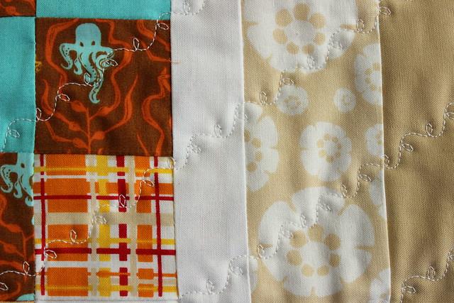 quilt line detail