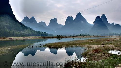 Paisatge kàrstic a Yangshuo