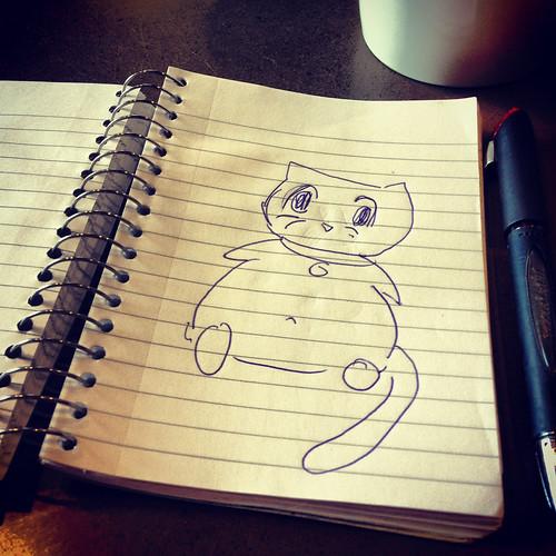 Doodles the cat