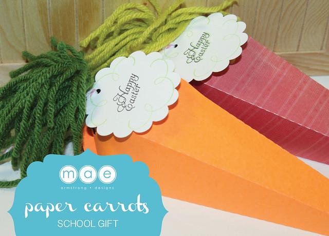 Paper Carrots - School Gift14