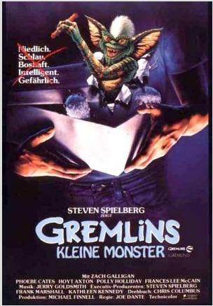 Gremlins German Poster