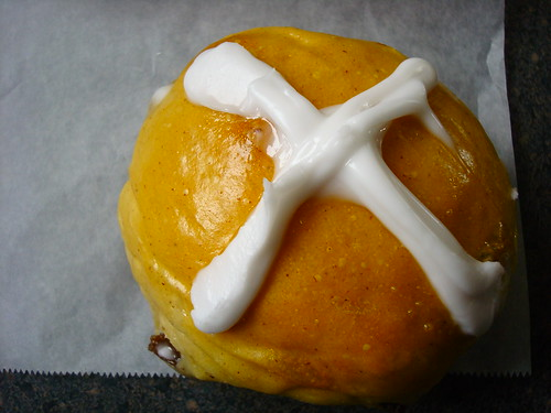 Hot Cross Bun from Whats for Dessert, Spring Lake Heights