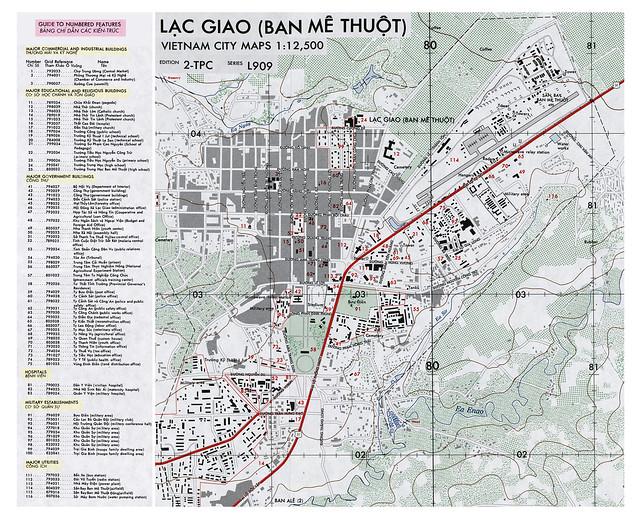 BAN ME THUOT 1960s  (1) bản đồ rút gọn