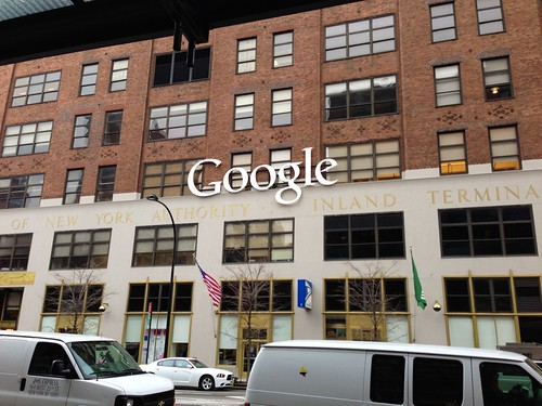 Google office in Cuercie, New York City