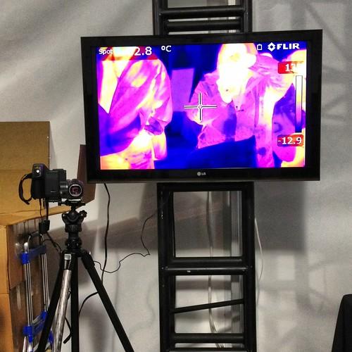 Infrared camera demonstration