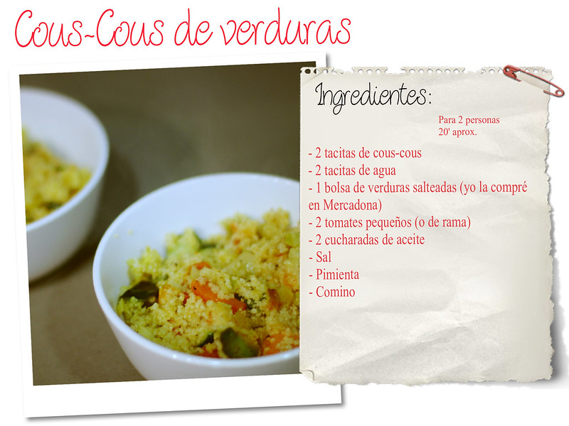 COUS-COUS DE VERDURAS - monicositas