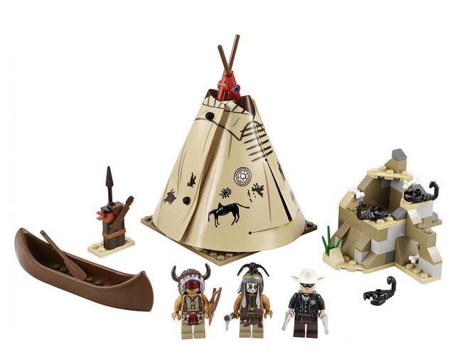 LEGO The Lone Ranger 79107 - Comanche Camp