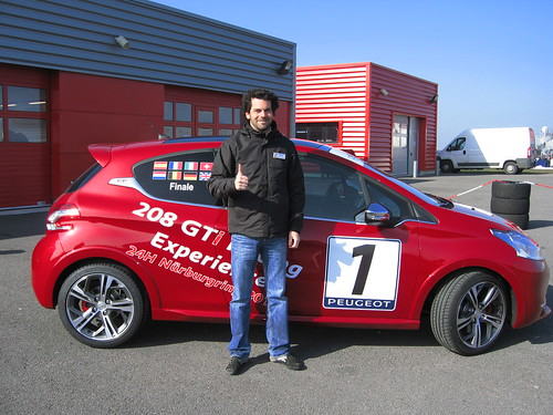 208 GTi Racing Experience Francia 2013