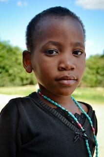 Portrait of young girl, TZ
