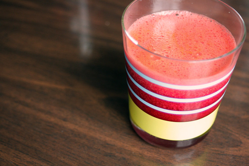 Orange Carrot Beet Juice