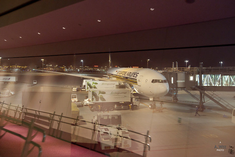 Review of Singapore Airlines flight from Singapore to Tokyo ...