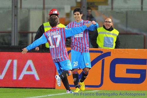 Catania: tre gol all'Udinese, tre punti per l'Europa$