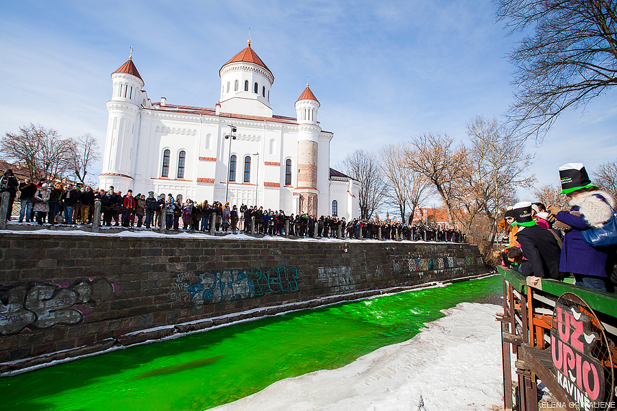"Saint Patrick""s Day in Vilnius, Lithuania"