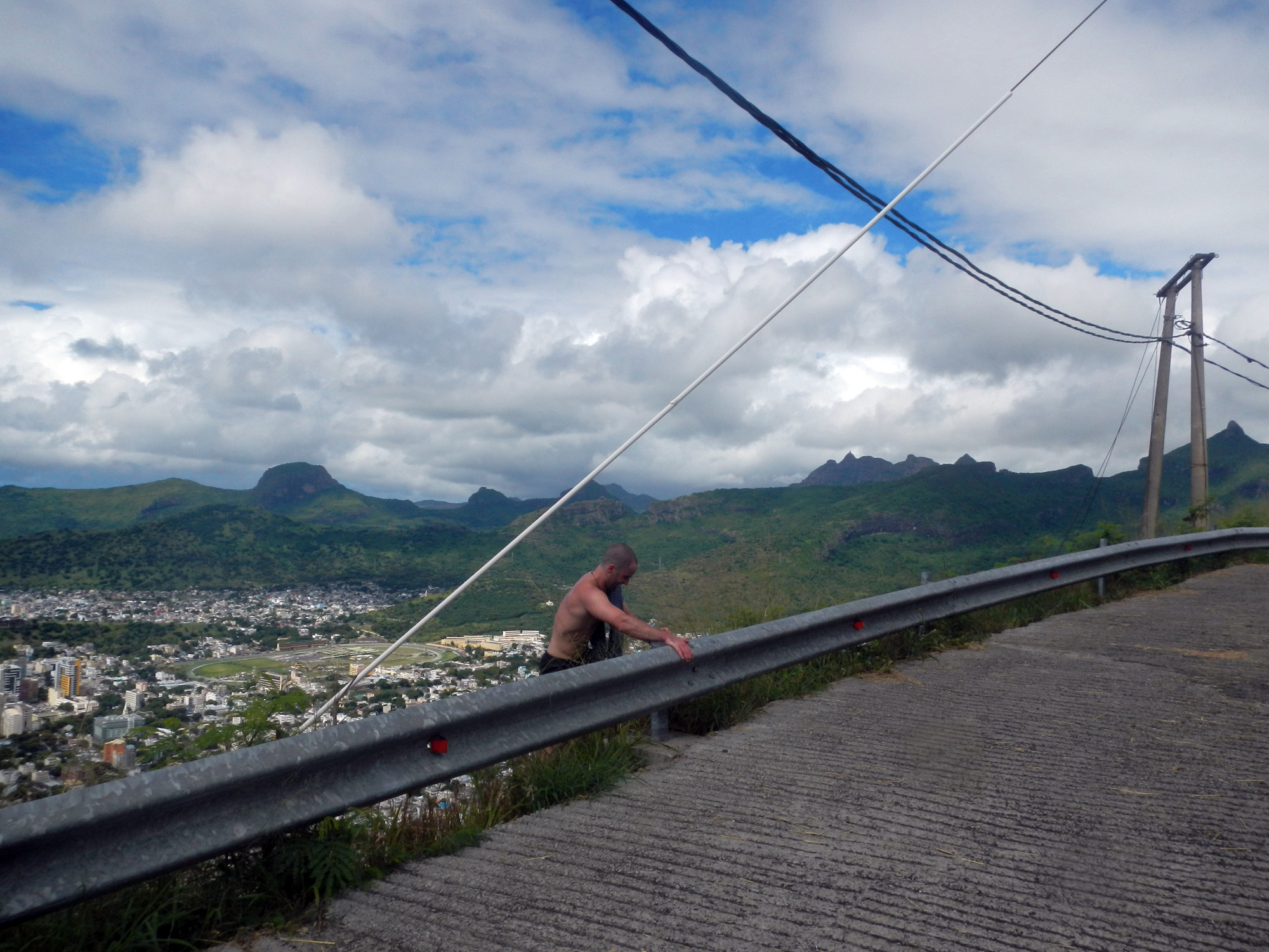 mauritius, a hike and a lunch