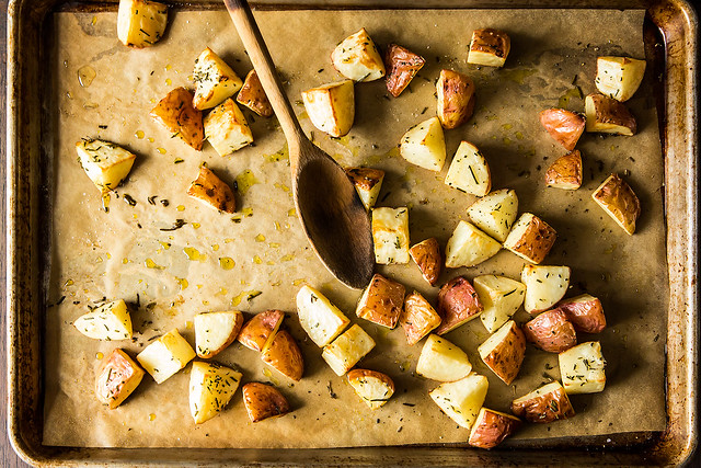 Roasted vegetables from Food52