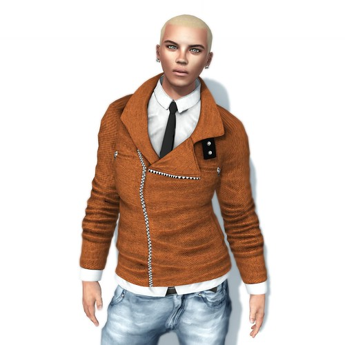 Exiled Inc - Mens Coat and Tie
