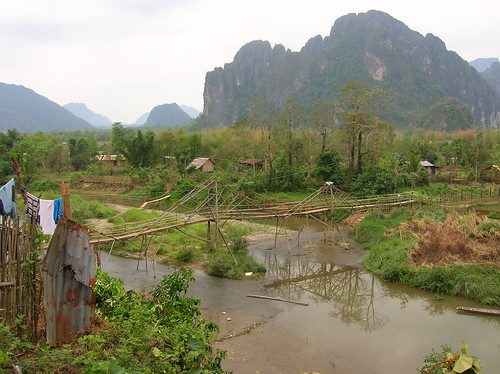 Backpacking in Vang Vieng, Laos