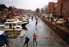 Elfstedentocht Sneek 21 feb 1985