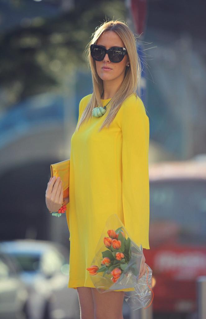 style lover vestido amarillo