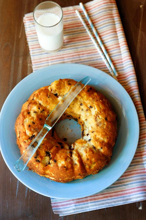 torta di pane vecchio e mele