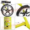 186-203 STRIDA 16吋LT版折疊單車(碟剎)消光芥末黃色2013年版3