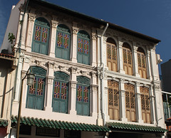 Colonial architecture, Chinatown, Singapore