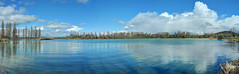 Panoramic of Lake of Vesoul - Vaivre
