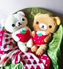 Korilakkuma & Rilakkuma plush pillows