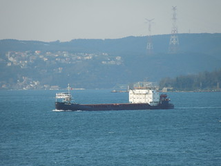13 03 19 Tankers in Bosphorus