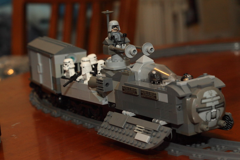 MOC] Imperial Troop carrier and Cargo Haulage (WiP) - LEGO Star Wars ...