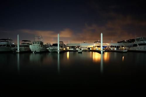 South Shore Harbor at Night