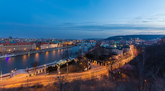Cold Sunset in Prague