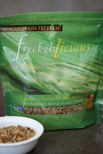 Freekehlicious Freekeh via MealMakeoverMoms.com/kitchen