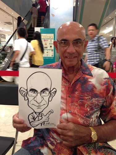 caricature live sketching for Takashimaya Good Friday Special - 2