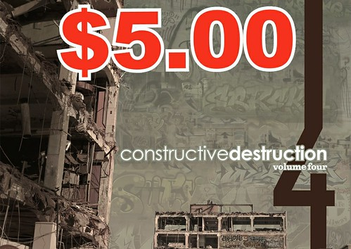 $5 VOLUME 4 DVD SALE by CONSTRUCTIVE DESTRUCTION