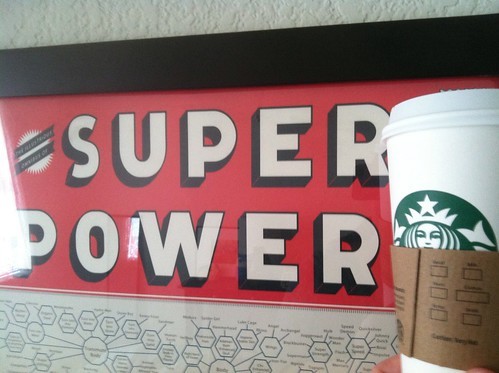 caffeine = super powers