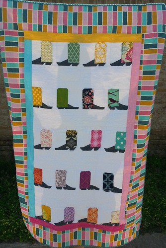 cowboy quilt by punkrockertracey