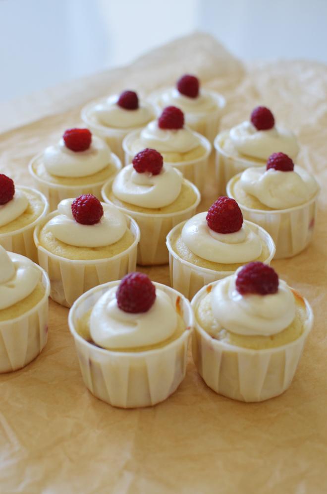 raspberry lemon cupcakes