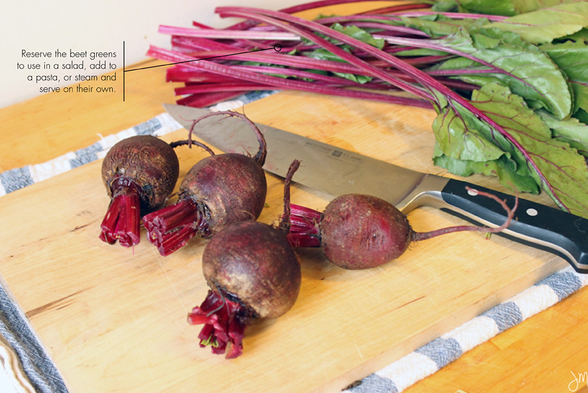 Julip Made culinary 101 how to roast beets3