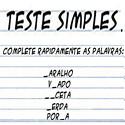 Teste Simples de Alzheimer