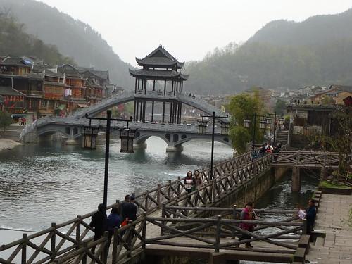 Hunan13-Fenghuang-Ville-Rive Nord (10) - 副本