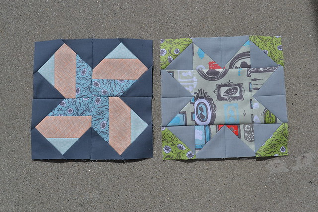 Virtual Quilting Bee Blocks One and Two