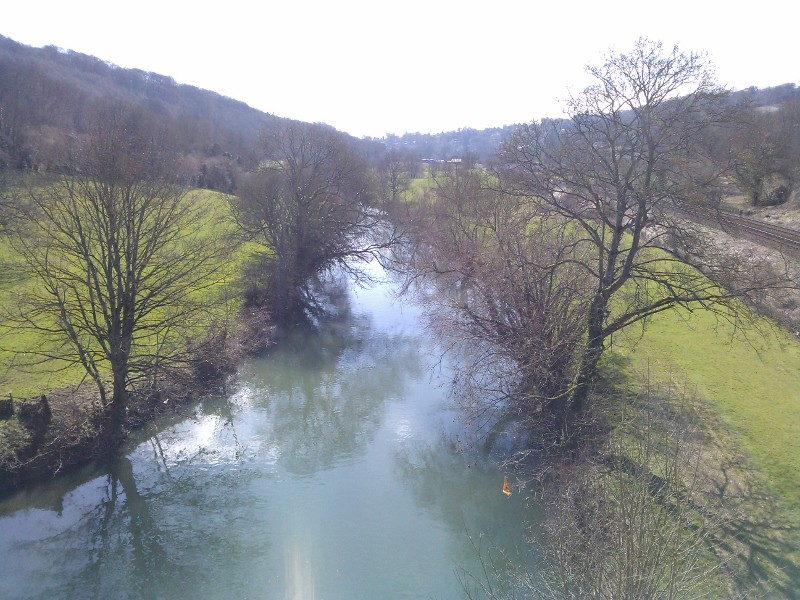 The Avon from the Dundas Aqueduct Bath to Bradford-upon-Avon walk
