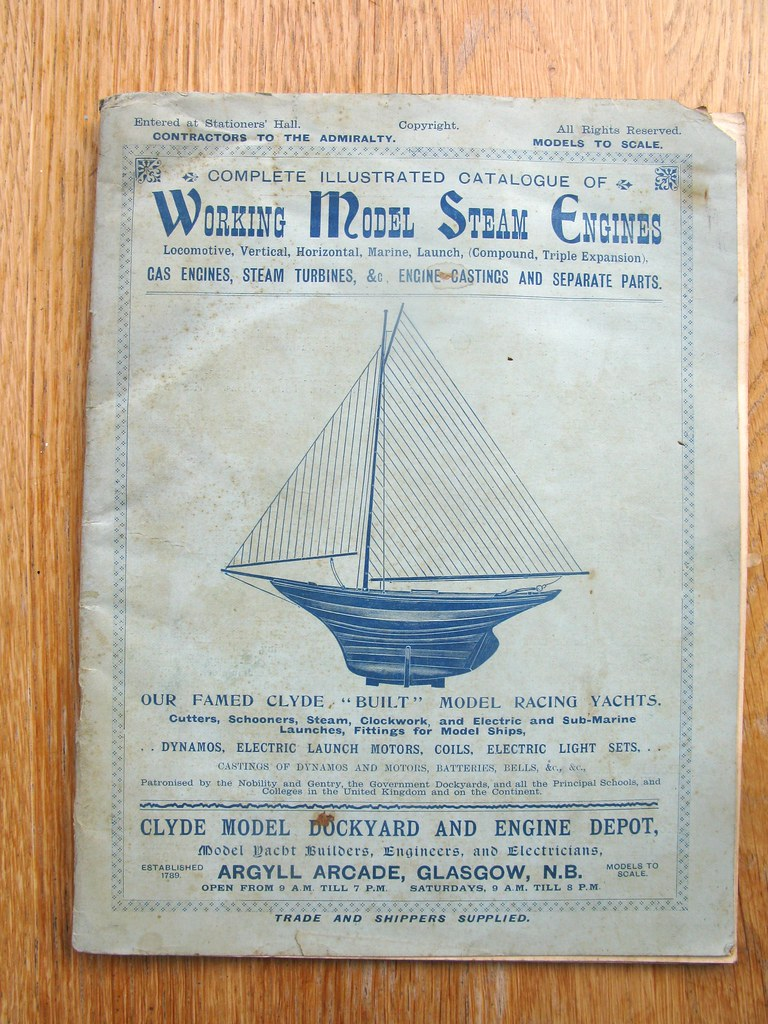 Clyde catalogue 1901 - The Unofficial Mamod & Other Steam Forum