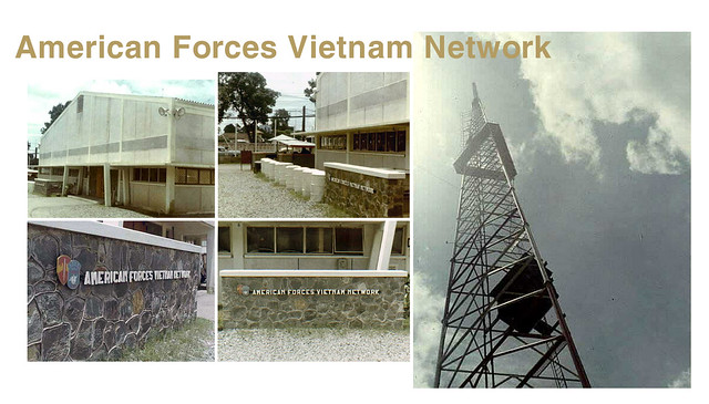 AFVN - Đài Truyền Hình QĐ Mỹ, cạnh đài THVN