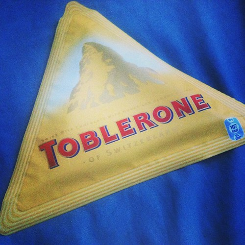 Toblerone repackaged