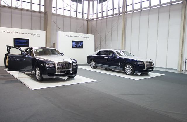 Rolls-Royce - Motor Show Poznań